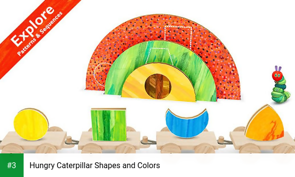 Hungry Caterpillar Shapes and Colors app screenshot 3