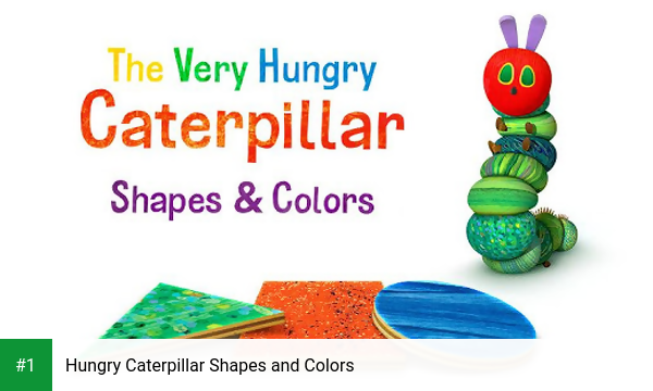 Hungry Caterpillar Shapes and Colors app screenshot 1