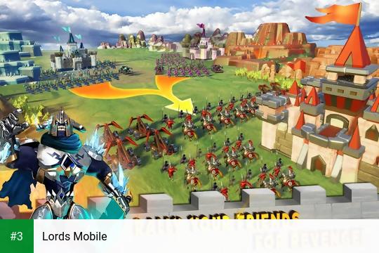Lords Mobile app screenshot 3