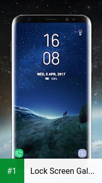 Lock Screen Galaxy S8 Plus App app screenshot 1