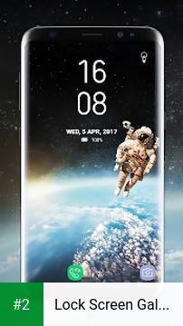 Lock Screen Galaxy S8 Plus App apk screenshot 2