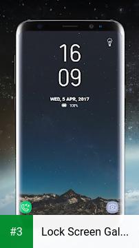 Lock Screen Galaxy S8 Plus App app screenshot 3
