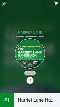 Harriet Lane Handbook Pediatric Diagnosis Therapy app screenshot 1