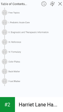 Harriet Lane Handbook Pediatric Diagnosis Therapy apk screenshot 2