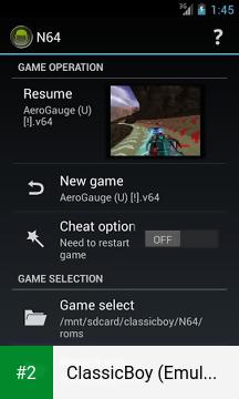 ClassicBoy (Emulator) apk screenshot 2