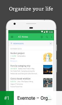Evernote – Organizer, Planner, Notebook app screenshot 1