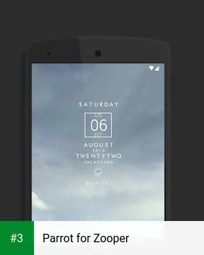 Parrot for Zooper app screenshot 3