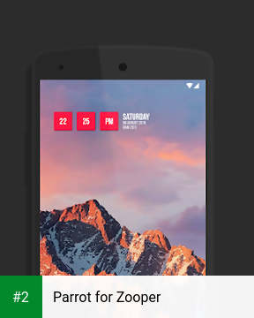 Parrot for Zooper apk screenshot 2