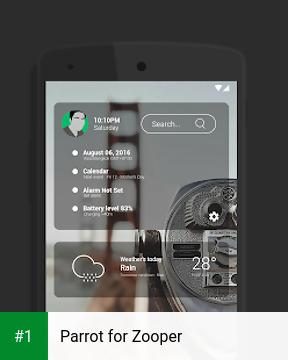 Parrot for Zooper app screenshot 1