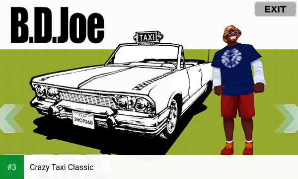 Crazy Taxi Classic app screenshot 3