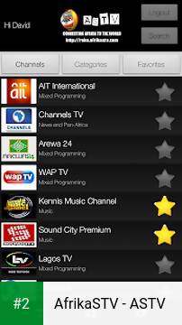 AfrikaSTV - ASTV apk screenshot 2