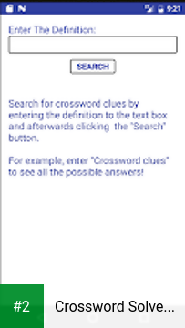 Crossword Solver Clue APK latest version - free download for Android