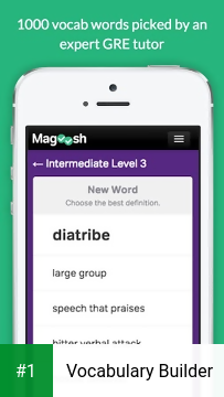 Vocabulary Builder app screenshot 1