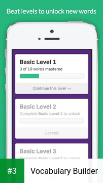 Vocabulary Builder app screenshot 3