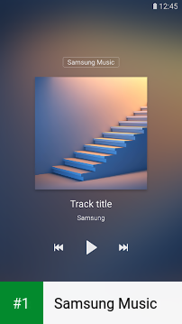 Samsung Music app screenshot 1