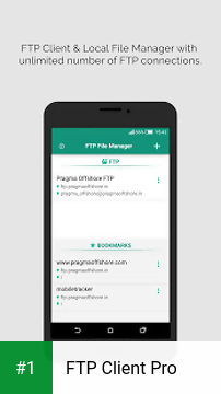 FTP Client Pro app screenshot 1
