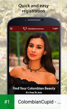 ColombianCupid - Colombian Dating App app screenshot 1