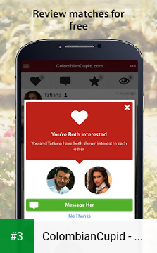 ColombianCupid - Colombian Dating App app screenshot 3