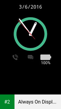 Always On Display From S7 G5 apk screenshot 2
