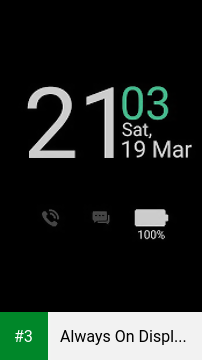 Always On Display From S7 G5 app screenshot 3