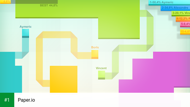 Paper.io app screenshot 1