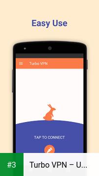 Turbo VPN – Unlimited Free VPN app screenshot 3