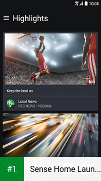 Sense Home Launcher app screenshot 1