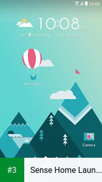 Sense Home Launcher app screenshot 3