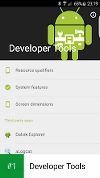 Developer Tools app screenshot 1