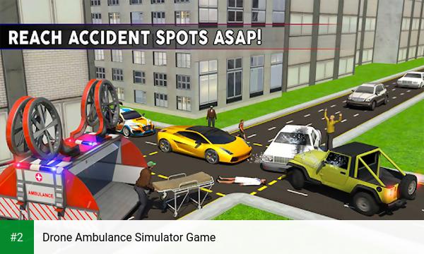 Drone Ambulance Simulator Game apk screenshot 2