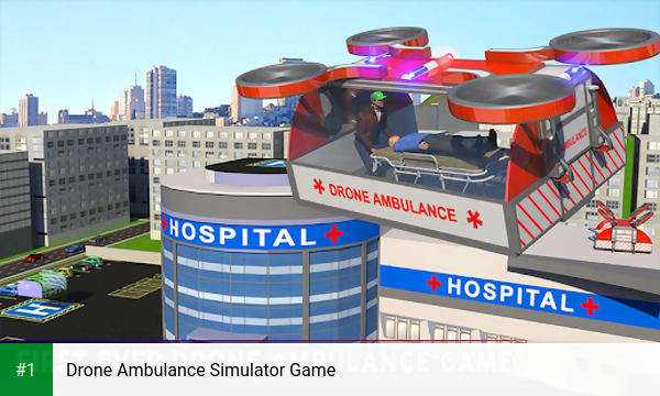 Drone Ambulance Simulator Game app screenshot 1