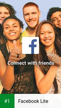 Facebook Lite app screenshot 1