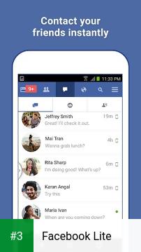 Facebook Lite app screenshot 3