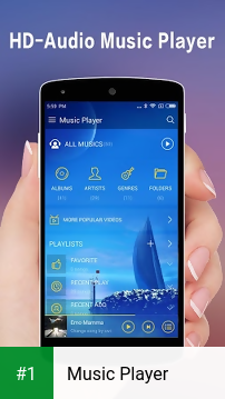 Music Player app screenshot 1