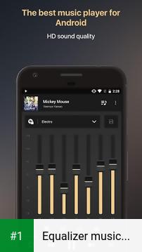 Equalizer music player booster app screenshot 1