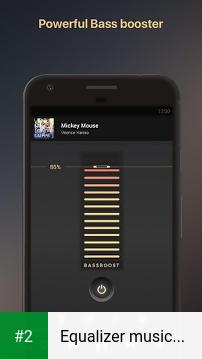 Equalizer music player booster apk screenshot 2
