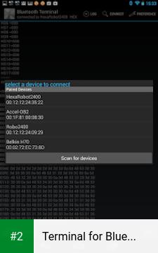 Terminal for Bluetooth apk screenshot 2