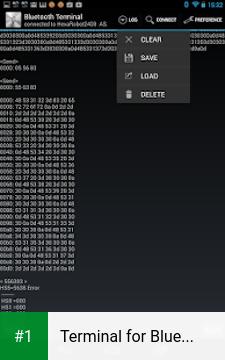 Terminal for Bluetooth app screenshot 1
