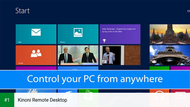 Kinoni Remote Desktop app screenshot 1