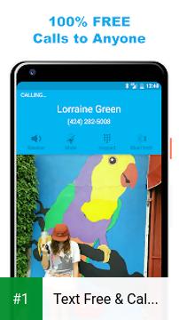 Text Free & Call Free app screenshot 1