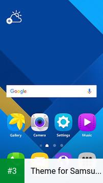 Theme for Samsung Galaxy S7 app screenshot 3