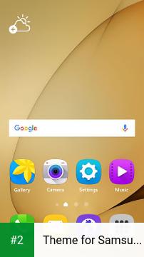 Theme for Samsung Galaxy S7 apk screenshot 2
