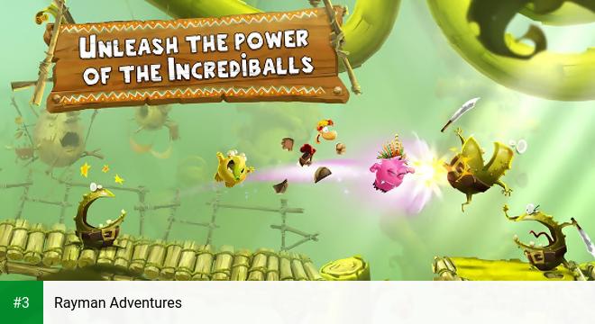 Rayman Adventures app screenshot 3