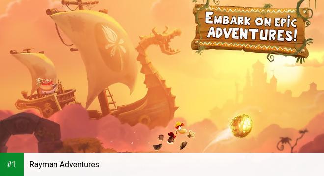 Rayman Adventures app screenshot 1