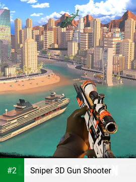 Sniper 3D Gun Shooter apk screenshot 2