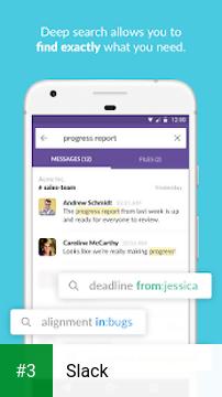 Slack app screenshot 3