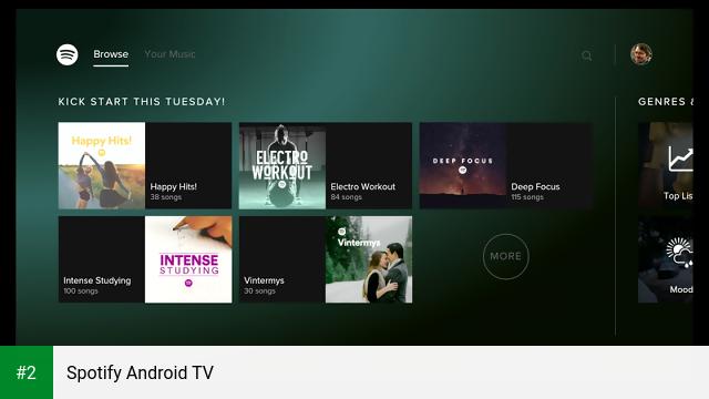 Spotify Android TV apk screenshot 2