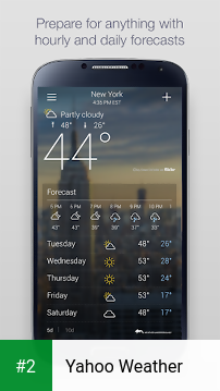 Yahoo Weather apk screenshot 2