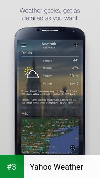 Yahoo Weather app screenshot 3