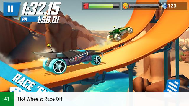 Hot Wheels: Race Off app screenshot 1